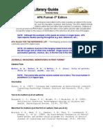 Penulisan Rujukan Format APA