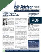 UHY Not-for-Profit Newsletter - November 2009