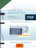 HISTORIA DE LA ADMINISTRACIÓN (1)