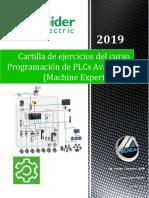 """04-Cartilla de ejercicios del curso """"Programación de PLCs Avanzado (Machine Expert Basic).pdf"""