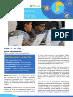 Sistematización Buenas Prácticas - Programación en la Escuela. Experiencias con estudiantes de nivel secundario - Escuela Tomás Alva Edison