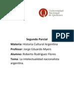 Monografía - La intelectualidad nacionalista