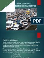 Estudio de Trafico para el diseno de Pavimentos