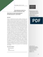 Artigo - INFLUÊNCIA DA REFLEXOLOGIA PODAL NA