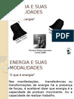 ENERGIA E SUAS TRANSFORMAÇÕES