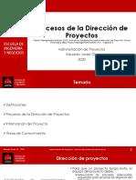 04 - Procesos de La Dirección de Proyectos