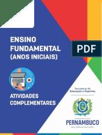Atividades Complementares_Ensino Fundamental_Anos Iniciais_1ºanoSemana2