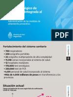 Presentación Alberto Fernández | Prórroga cuarentena