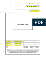 Document Template
