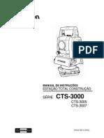 Manual da Topcon CTS-3000