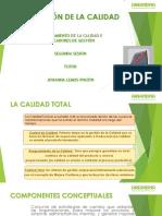 SEGUNDA SESION ASEGURAMIENTO DE LA CALIDAD