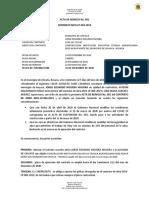 ACTA DE REINICIO 001