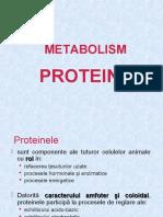 Metabolism Proteine