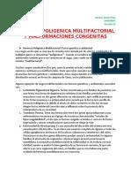 HERENCIA POLIGENICA MULTIFACTORIAL Y MALFORMACIONES CONGENITAS.doc