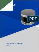 Velodyne LiDAR VLP 16 User Manual