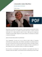Cine Entrevista a la documentalista venezolana Liliane Blaser