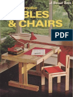 Easy-To-make Tables & Chairs