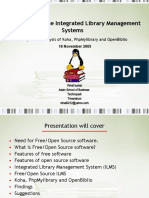 Open Source Library Management Systems 9684