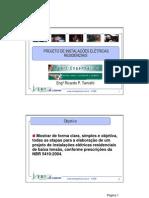 PROJETO DE INSTALAÇÕES ELÉTRICAS RESIDENCIAL