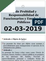 SINTESIS Ley de Probidad y Responsabilidad de Funcionarios y Empleados Públicos.pptx