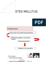 FISIOPATOLOGIA DE DIABETES MELLITUS