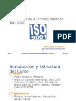 Auditor Interno Cap 1 Introduccion Calidad