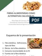 3 FIBRAS ALIMENTARIAS COMO ALTERNATIVAS SALUDABLES