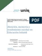 Atencion Memoria