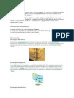 Materia y energía- investigacion de quimica