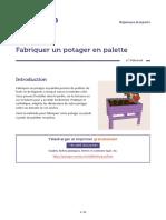 04 - Fabriquer un potager en palette