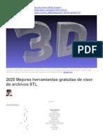 Visualizadores STL - 2020