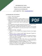 ACT.  ENCUENTRO  4 - AUTOFORMACIÓN