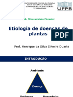 Etiologia de doenças de plantas