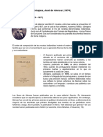 Ficha Ubirajara - José de Alencar