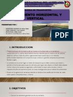 ALINEAMIENTO HORIZONTAL Y VERTICAL