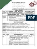 PLANIFICACIÓN SEMANAL NO. 23