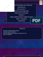 Anely Ossiris Andrade Estructuras II unidad IV