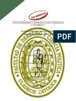 FACULTAD DERECHO Y CIENCIAS POLÍTICAS