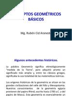 (1) Conceptos geométricos básicos