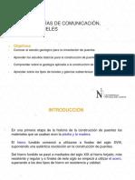 13. GEOLOGÍA EN VÍAS DE COMUNICACIÓN, PUENTES Y TÚNELES