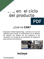 CAE en  el ciclo del producto.pptx