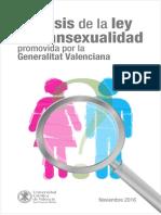 ANALISIS DE LA LEY DE TRANSEXUALIDAD