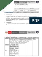 Silabo DEPORTES I  - 2020 -I- EF-V