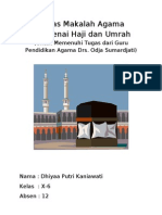 Makalah Agama Haji-Umrah
