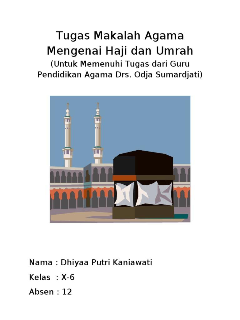 Makalah Agama Haji Umrah