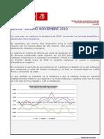 Observatorio Economico Psoe de Almeria Turismo Noviembre