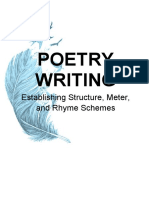 Creative Writing- Poetry