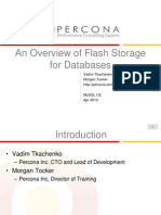 An Overview of Flash Storage for Databases Presentation
