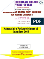 PACKAGE SCHEME OF INCENTIVE -2019