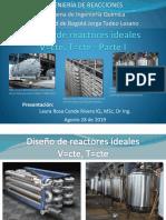 7. Diseño-Reactores ideales-V cte-T cte_2019-II